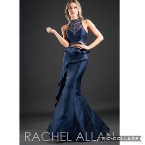 Rachel Allan 2 piece long formal dress